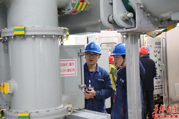 衡阳速度:廖家湾220千伏智能变电站提前10个月投产送电