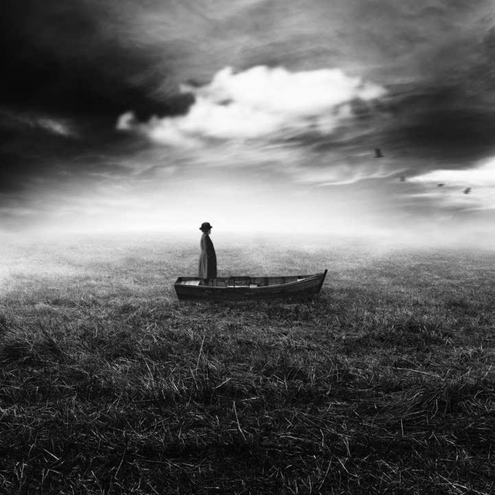 观念摄影:超现实黑白