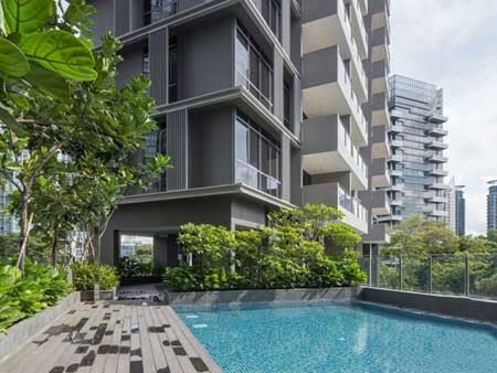 新加坡paterson collection住宅花园图片