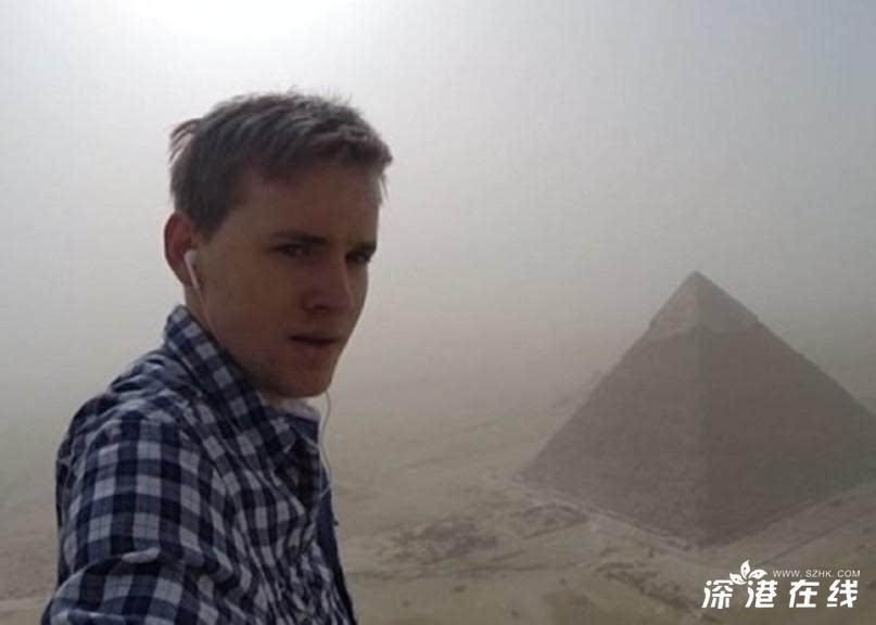 德国男子爬上埃及金字塔后被捕 随后获释
