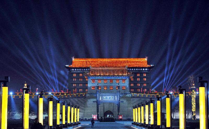 探秘央视春晚西安分会场 提前体验陕西民俗节目表演