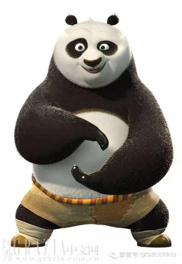 《功夫熊猫》卖萌手册冬季时尚版