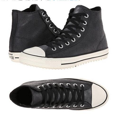 匡威五角星鞋带系法步骤图解