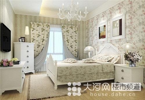 清新卧室装修效果图大全