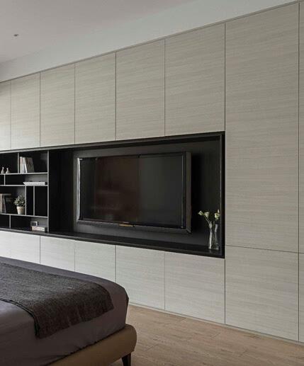 6个卧室木地板装修效果图 原木色地板和茶几绝配(图)