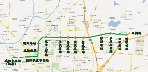 青岛城阳有轨电车2月5日可试乘 看看12站都在哪(图)