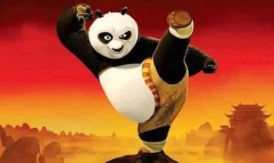 石头画熊猫卡通头像