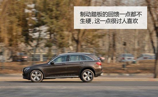 测试北京奔驰glc260豪华型比亚迪f0悦酷手自一体图片