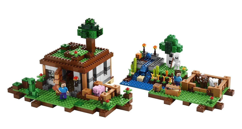 当前LEGO乐高 Minecraft 21116 Crafting Box 我的世界创造积木块自营售价$40.99,发货重量2.5磅,预计转运到手价格为¥370   海淘直达链接   LEGO乐高 Minecraft 21116 Crafting Box,以著名的沙盒类游戏我的世界为原型的积木玩具,这个套装总共有518件零件,可以做出八种不同的场景,包括了很多在游戏中常见的经典积木块,包括游戏主角史蒂夫、一个菇牛一个骷髅射手。