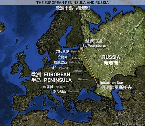 这10幅地图就展示了俄罗斯自苏联解体以来所面临的困境,从中我们