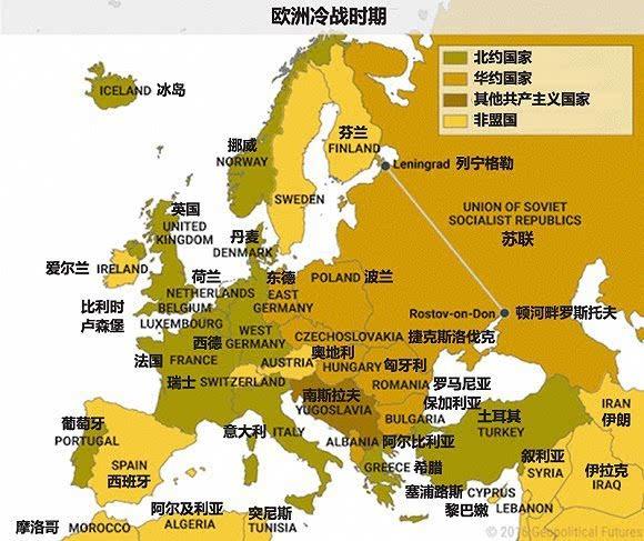 10张地图告诉你俄罗斯的政治军事经济战略