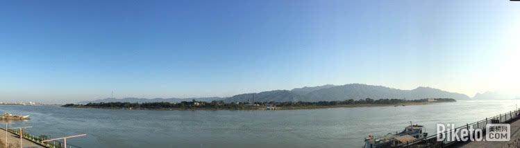 砚洲岛全景