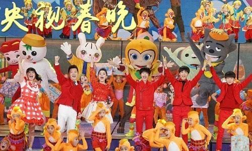 央视猴年春晚林心如刘涛惊艳图片