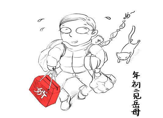 食物q版 甜品简笔画