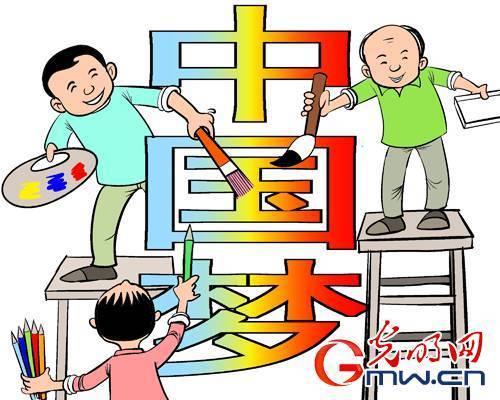中国梦 强国梦 人民的梦