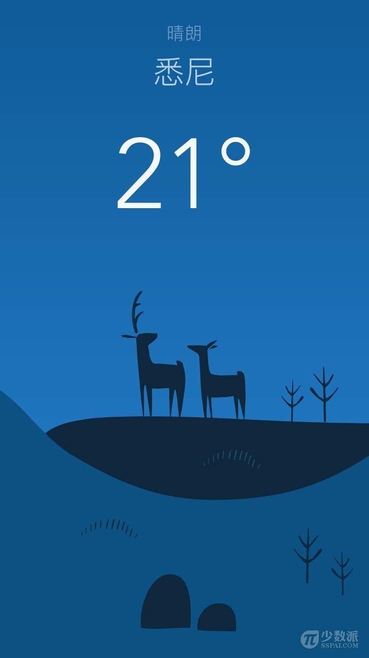 像欣赏插画一样看天气 手绘风天气 app:wild weather