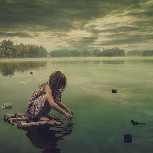 唯美风景lomo伤感风格的意境图片