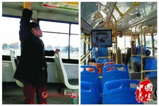 老人公交吊单杠司机好心劝阻却遭骂 大妈三招震惊乘客