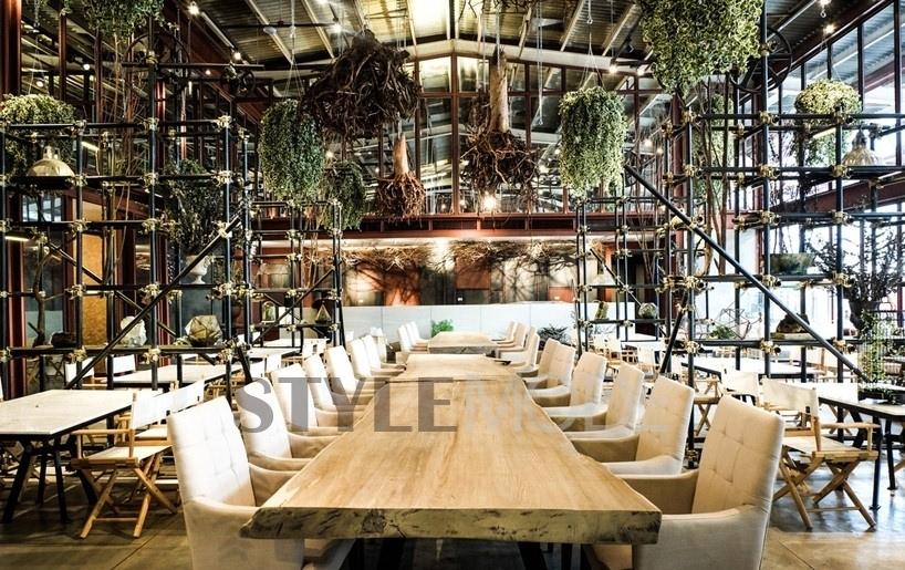 徜徉葱茏绿意中 曼谷温室餐厅