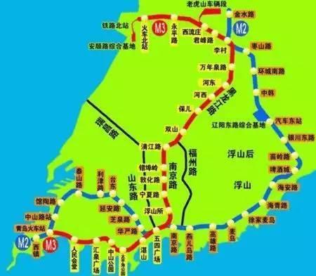 胶州到即墨铁路地图
