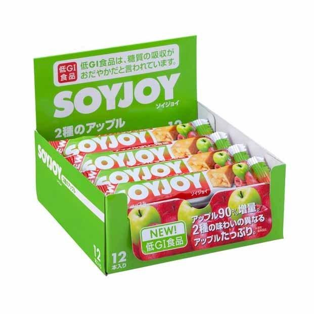 维维嚼益嚼能减肥_吃不胖的零食:soyjoy维维嚼益嚼 苹果味 大豆代餐棒 12条*30g 日淘