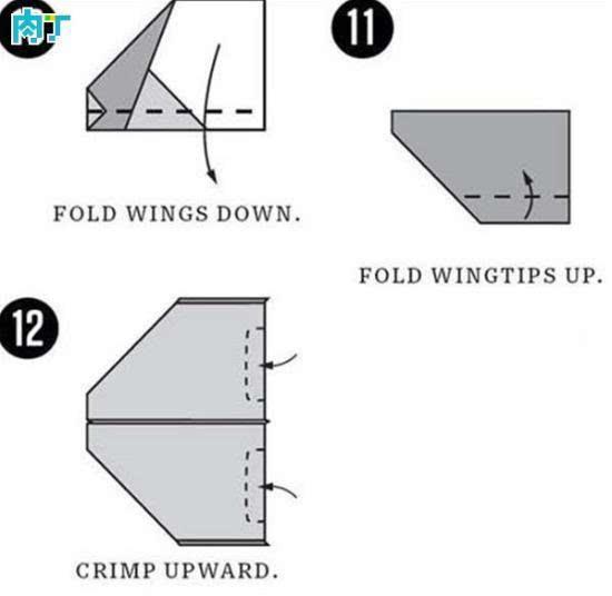 了新的折法(三角形下折)
