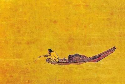 海竿鱼钩鱼线鱼漂组装图解