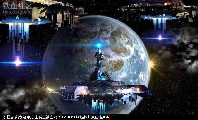 巨型不明物体 UFO探索者认为是外星飞船