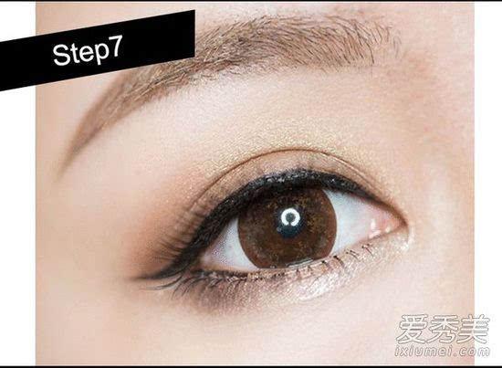 画眼影步骤:怎么画眼影让眼睛变大?