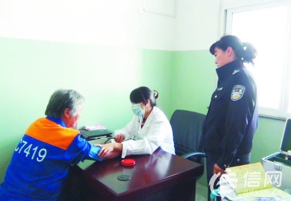 青岛市第二看守所女警是医生是护工 还懂心理学