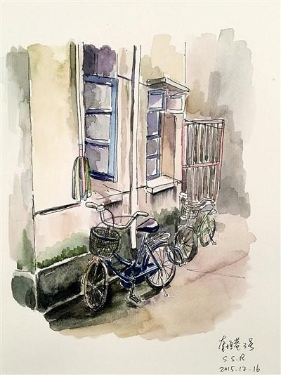 父女手绘城市变迁中杭州人的旧梦新梦