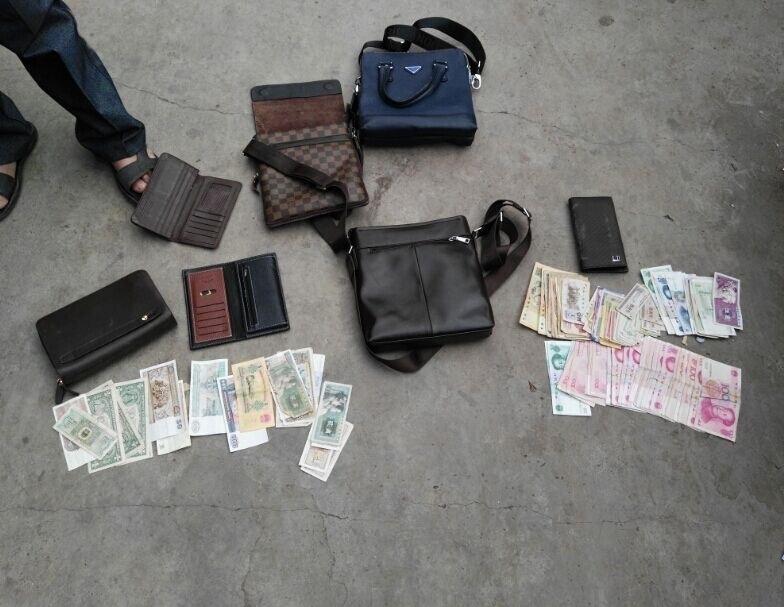 凉山:吸毒男子盗窃被抓 可疑物品有外币有粮票