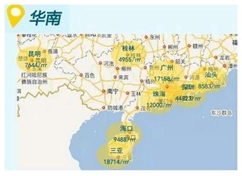 2016最新全国房价地图一览 还好我们生活在青岛