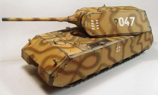 希特勒的终极大玩具 鼠式坦克