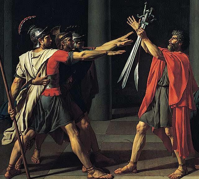 古罗马军团怎么打仗