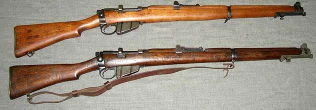 10连发横扫德军的恩菲尔德步枪