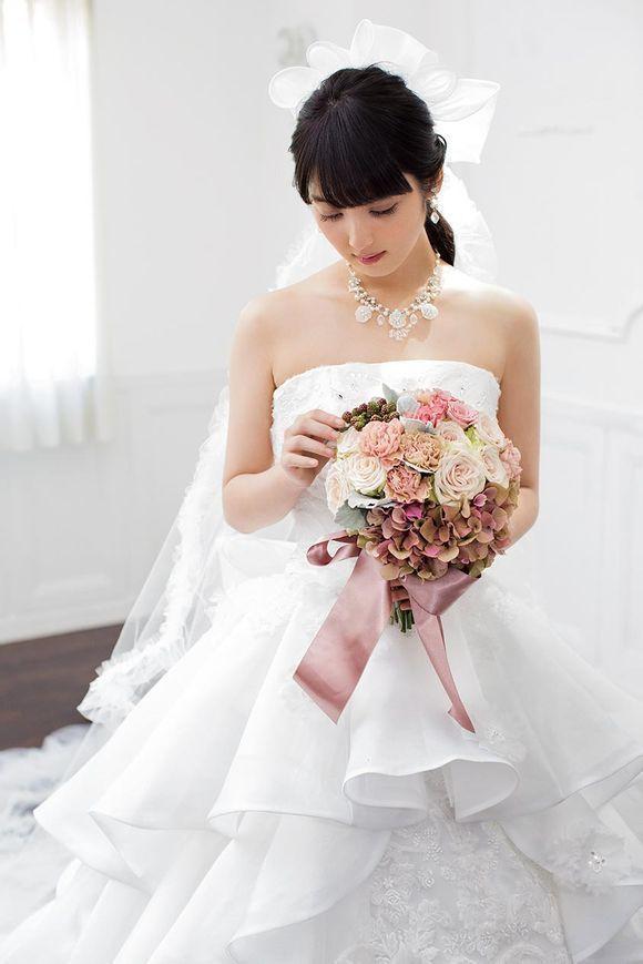 日本第一美女佐佐木希婚纱写真美照曝光