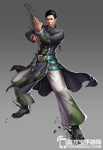 游戏中的叶问人设完全根植于电影人物,采用的姿势也是咏春拳法最经典图片