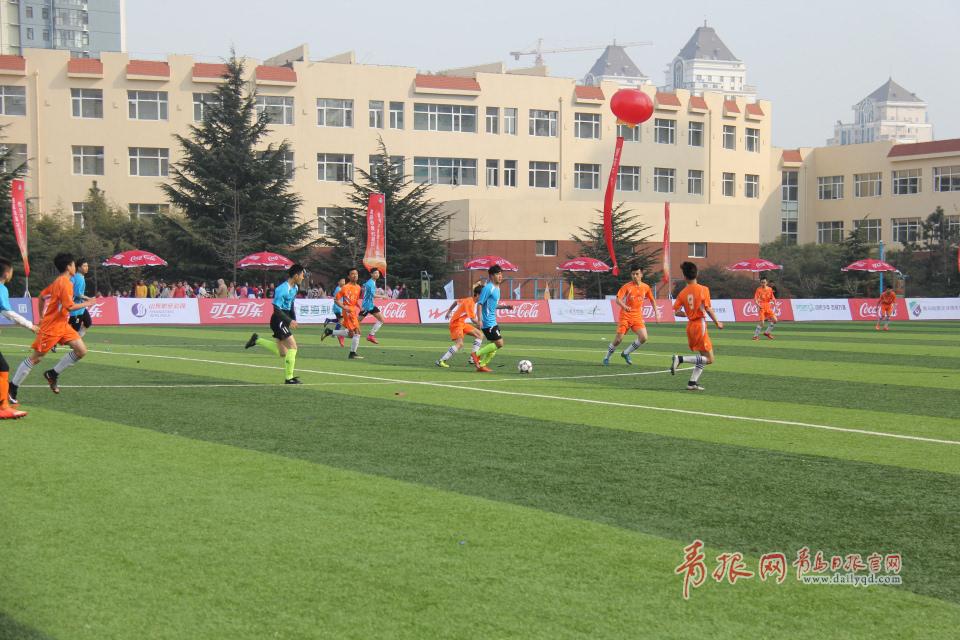 开幕式对阵由青岛杭州路初中比赛平度开发区实验中学,最终青岛开发区高中视频免费网上图片