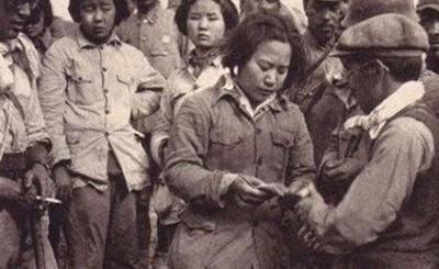 真实历史 抗战中的被俘女兵图片
