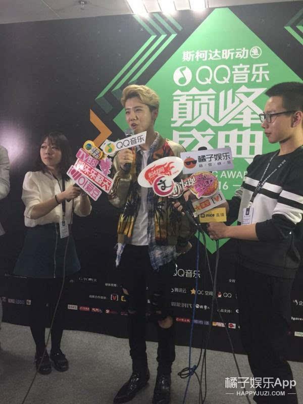 QQ音乐盛典直播 权志龙英文致谢 Bigbang郎朗合作 终于等到你们