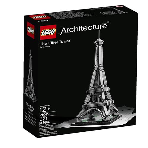 lego乐高 architecture建筑师系列 21019 埃菲尔铁塔