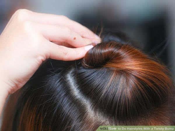天热了教你4款把刘海和后面头发扎到一起的发型图片