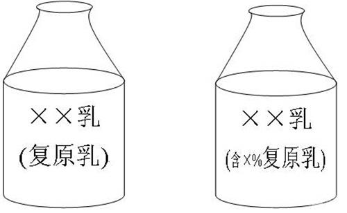 各种瓶子简笔画-牛奶新规 严管违规添加复原乳 何为复原乳