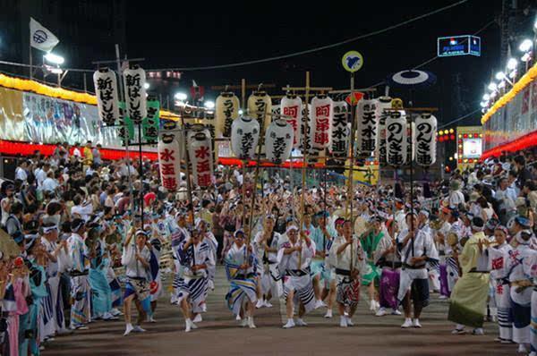 日本盂兰盆节