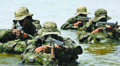 探秘韩国特种部队 经魔鬼训练成为 精锐中的精锐