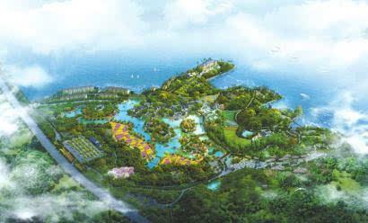 """桃花坞旅游项目全面启动,预计泸州首个现实版""""桃花源""""将在今年就能"""