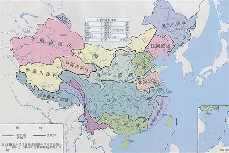 我国河流分布图_我国的江河 分布 图