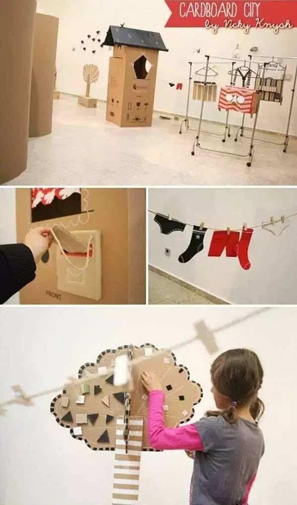 diy手工 创意纸板
