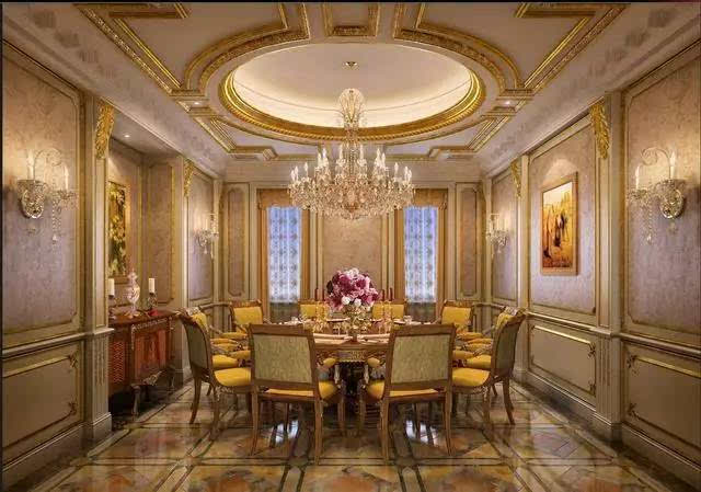 宫廷式的大理石豪宅,妙不可言的豪华享受